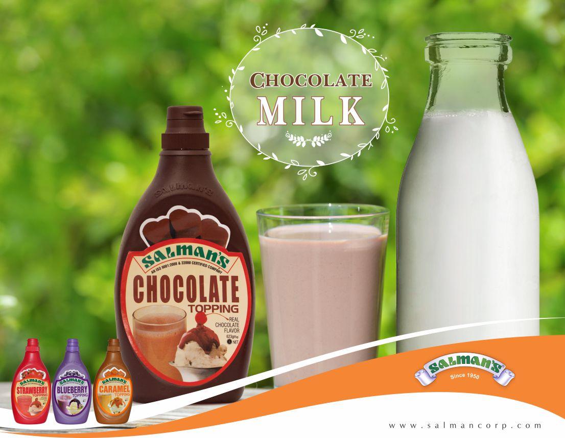 Recipe--Flavoured milk