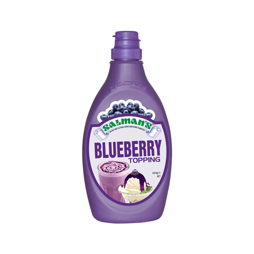blueberry-topping